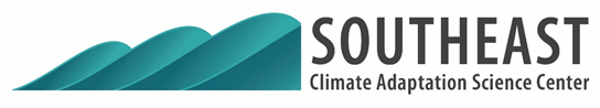 Southeast Climate Adaptation Science Center (SECASC) logo.